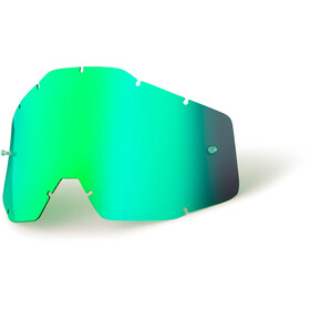 100% Replacement Lenses Kids, green / mirror
